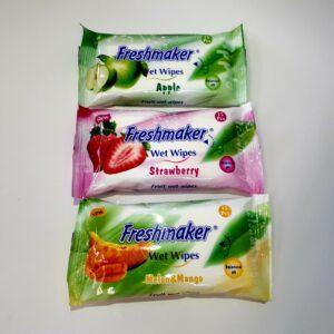 Влажные салфетки Freshmaker 15 шт/уп (36 уп/кор)